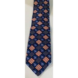 Ralph Marlin Republican Silk Tie